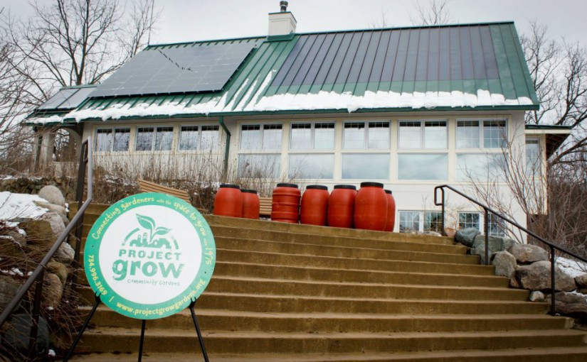 Making a Rain Barrel with Project Grow