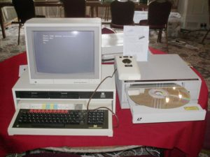 A Domesday system at the Vintage Computer Festival 2010, Bletchley, UK
