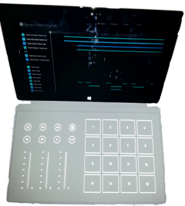 Surface Music Kit Cover and App