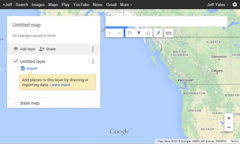 My Maps from Google