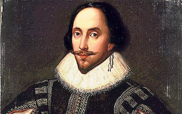 Shakespeare was not amused at the quality of the earring he bought on Etsy